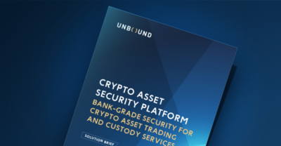 Crypto Asset Security Platform Solution Brief cover