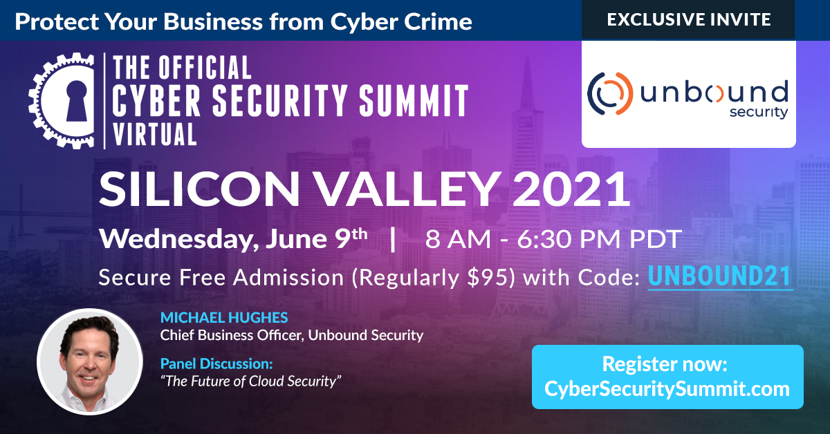 Cybersecurity Summit Silicon Valley Banner
